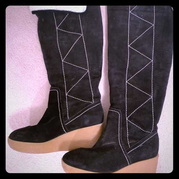 Michael Kors Shoes - Michael Kors over the knee suede boots